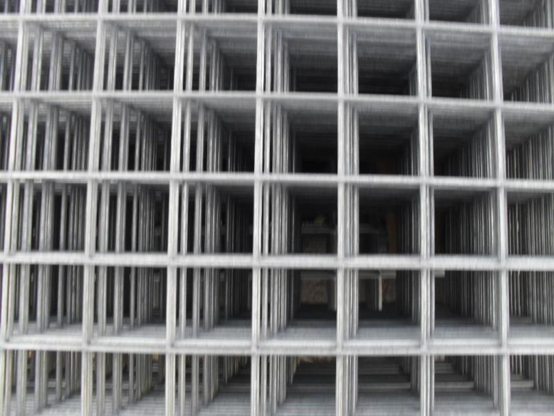 Galvanised Sheet Metal Fencing Mesh Panels Weld Wire Cage