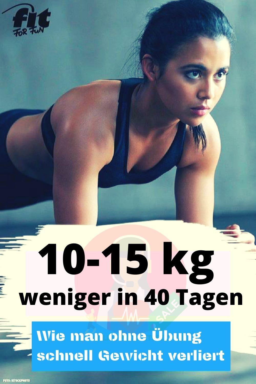 Wie man in 3 Tagen ohne Diätpillen Gewicht verliert