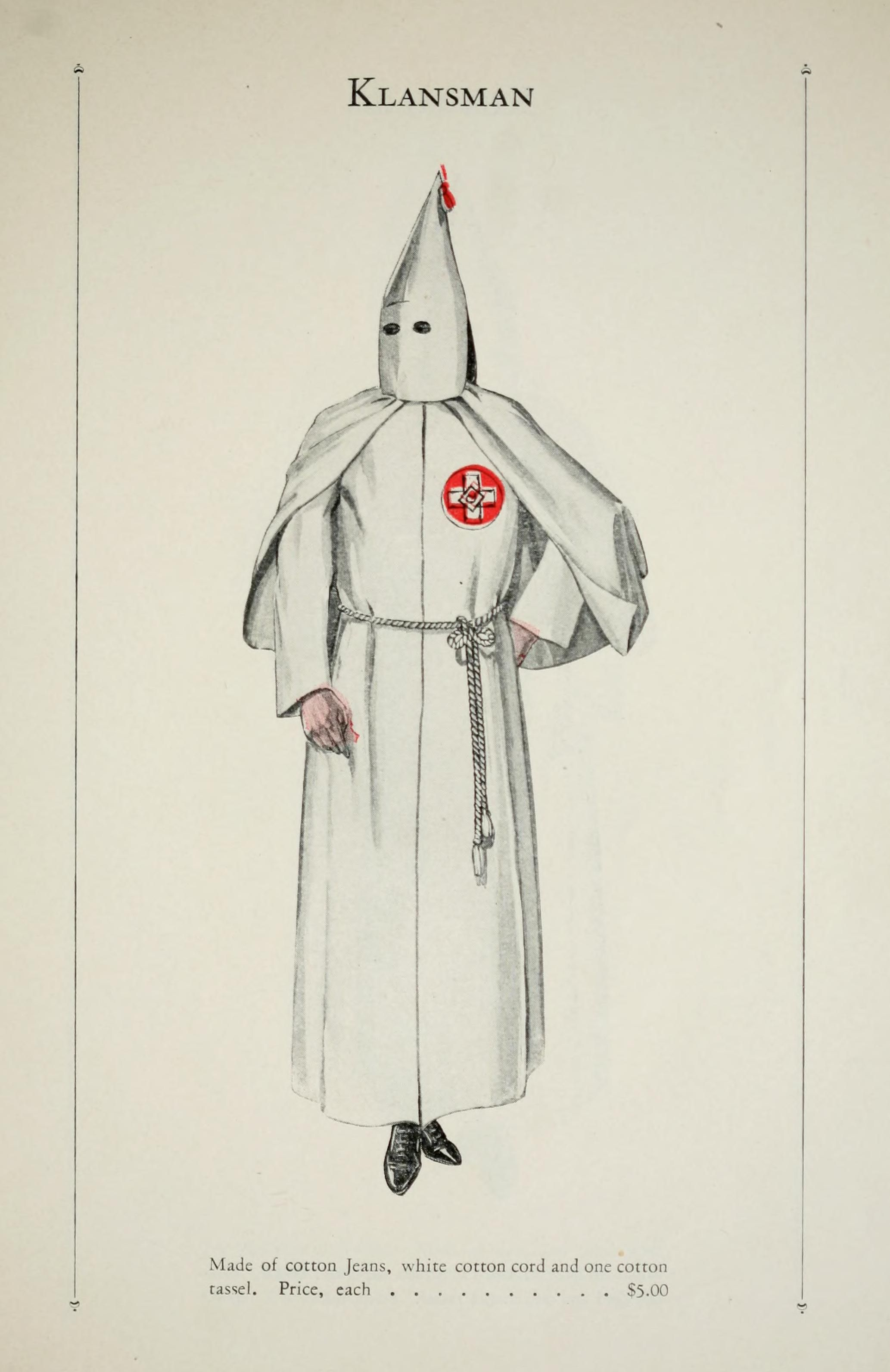 your official ku klux klan robe catalog robes dragon and ranges catalogue of offical robes and banners by the ku klux klan