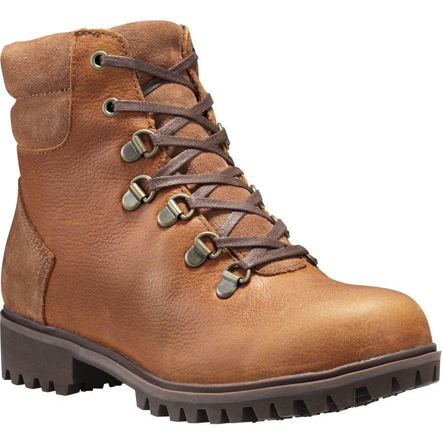 Timberland - Wheelwright Waterproof Hiking Boot - Women s - Burnt Orange b32cd20c50