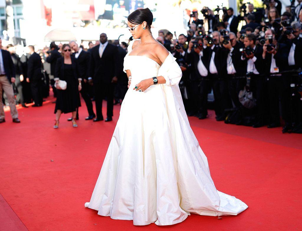 Rihanna Photos Photos - 'Okja' Red Carpet Arrivals - The 70th Annual Cannes Film Festival - Zimbio