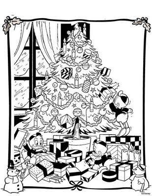 Disney Xmas Coloring Page Disney Coloring Pages Christmas Tree Coloring Page Tree Coloring Page