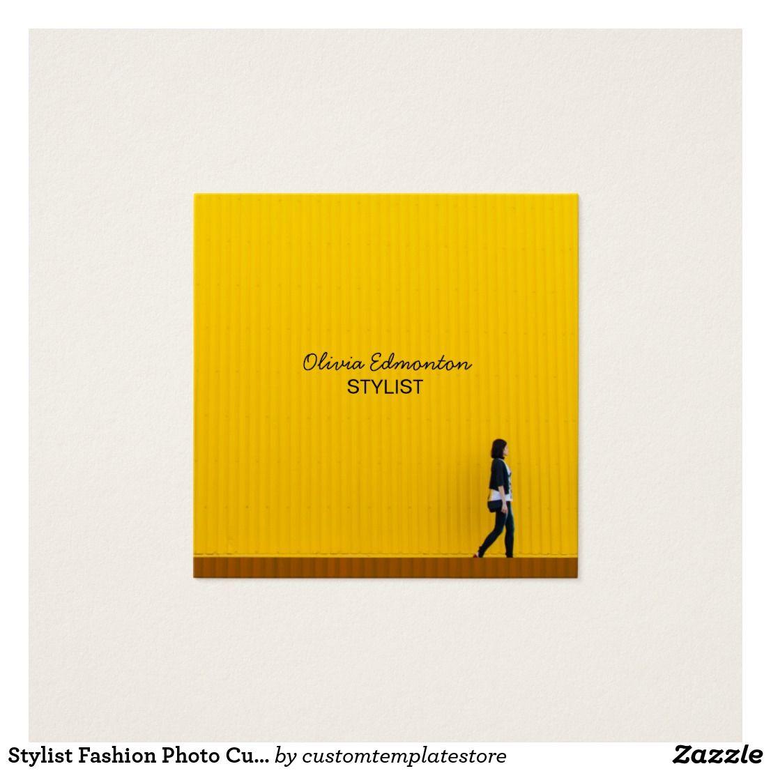 Stylist Fashion Photo Custom Template Plain Makeup | Great Office ...