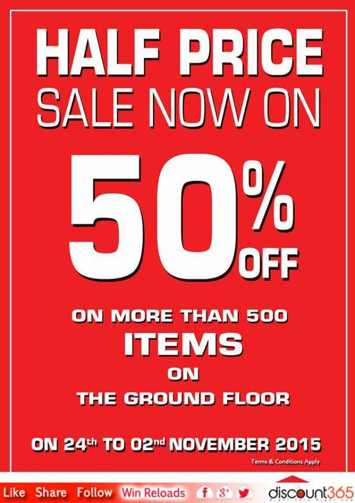 Half Price Sale Now On 50 Off House Of Fashions Half Price Sale