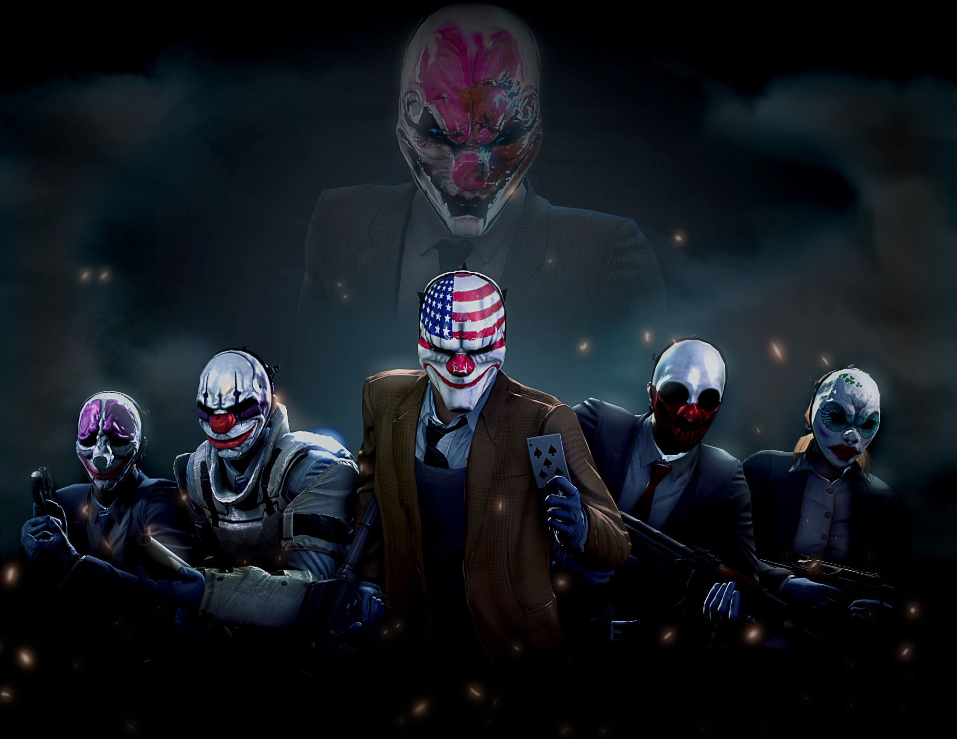 Pin By Mark Batista On Group In 2020 Chains Payday Payday 2 Payday