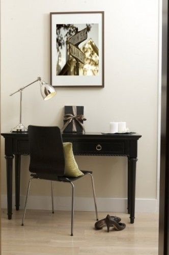 Chocolate U0026 Cream Design   Contemporary   Home Office   New York   By Marie  Burgos Design