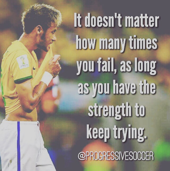 Sportcitaten : Soccer training improving your shooting quotes : : pinterest