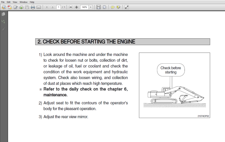Hyundai Hl760 7 Wheel Loader Operator S Manual In 2020 Repair Manuals Hyundai Hydraulic Systems