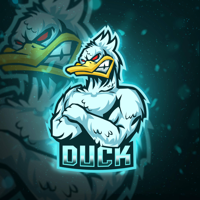 Angry Duck Esports Logo Done On Fiverr Please Click Image For Link Gambar Karakter Gambar Naga Logo Keren
