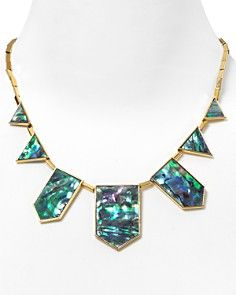 House Of Harlow 1960 Five-Station Drop Necklace, 18""