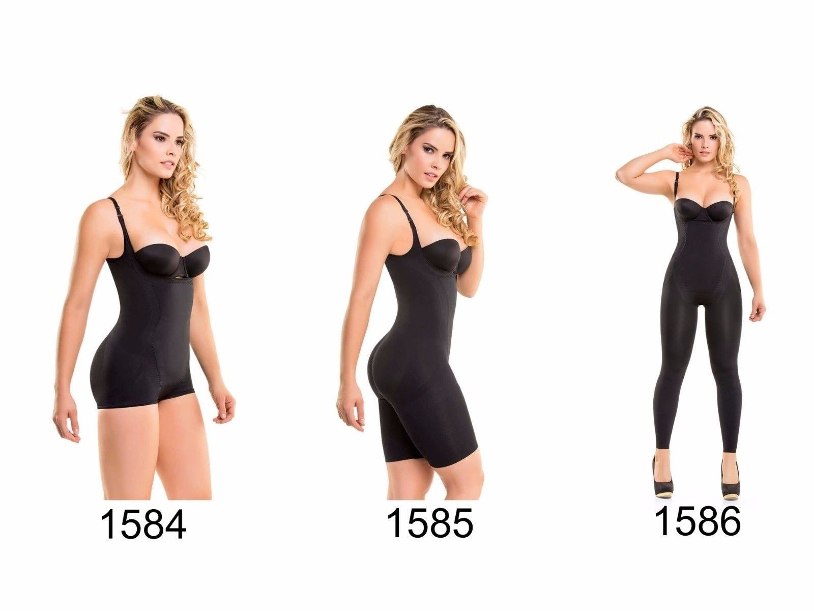 CYSM Fajate Thermal Body Shapers Seamless Microfiber 1584 1585 1586