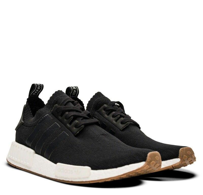 adidas nmd r1 primeknit black