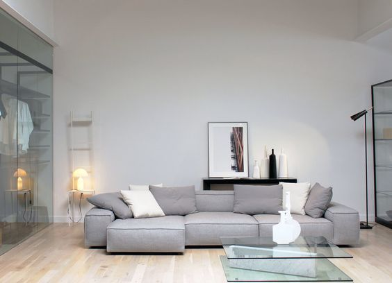 Neowall Sofa by Living Divani on Display in our showroom | Furnish ...
