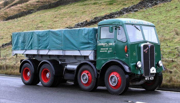 1954 Aec Mammoth Major Classic Trucks Vintage Trucks Old Lorries