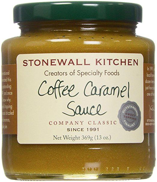 stonewall kitchen sauce coffee caramel 13 ounce cooking ice rh in pinterest com