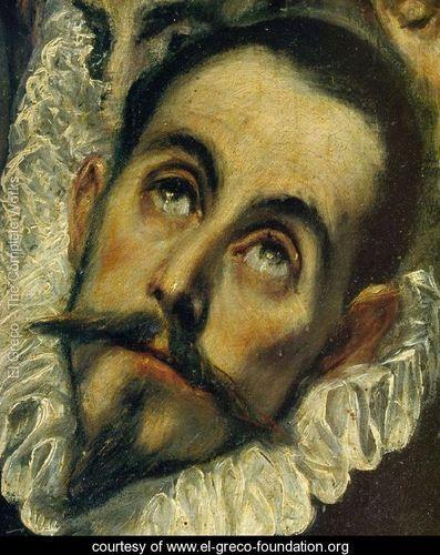 Download The Burial of Count Orgaz (detail) - El Greco (Domenikos Theotokopoulos) - www.el-greco ...