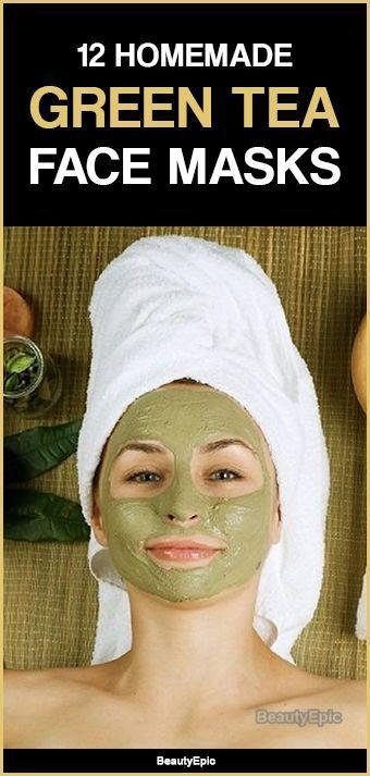 Tea Face Mask: Benefits + Top 12 DIY Recipes Green Tea Face MasksGreen Tea Face Masks