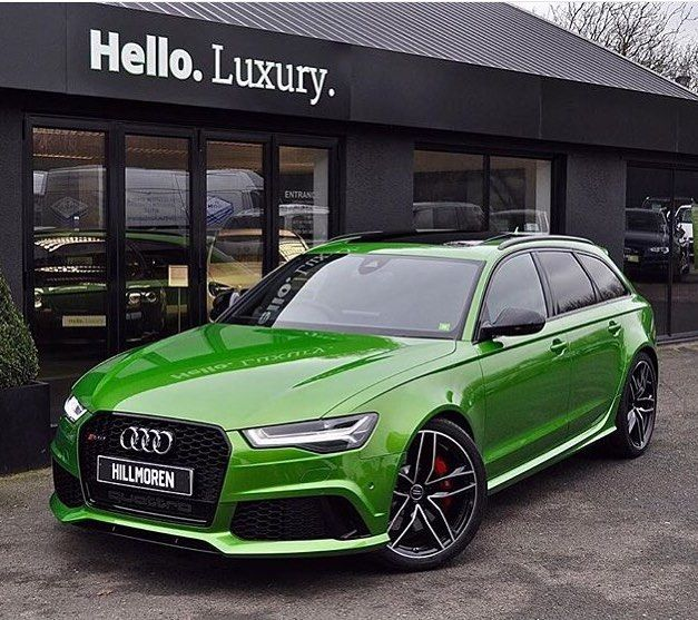 Java Green Audi RS6 Avant | My Cars | Audi a3 sportback, Audi wagon