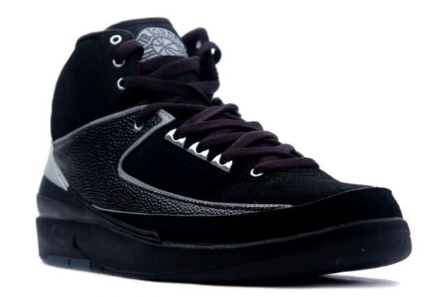 pretty nice 10ad6 86f35 Air Jordan 2 (II) Retro - Black   Chrome
