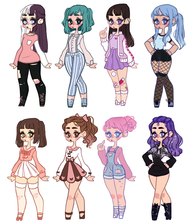 Anime Batch Action: Adoptables Batch 4 Closed By Drovie