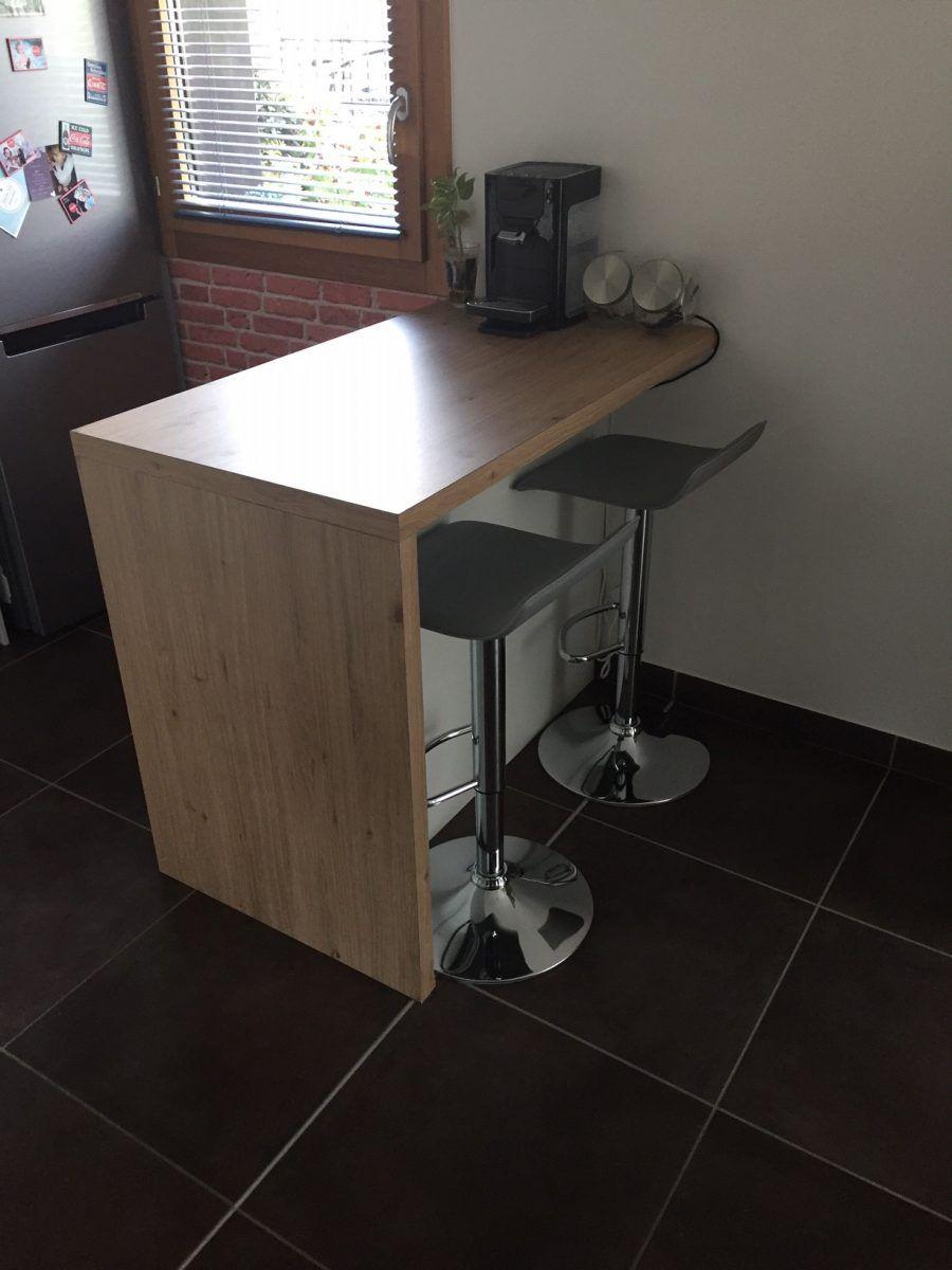 Plan De Travail Bar Arrondi plan de travail/bar avec eket | meuble bar cuisine, plan de