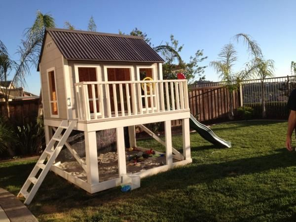 Modified Playhouse | Do It Yourself Home Projects from Ana ...