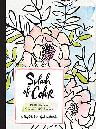Hottest New Coloring Books April 2017 Roundup Libros Pinterest