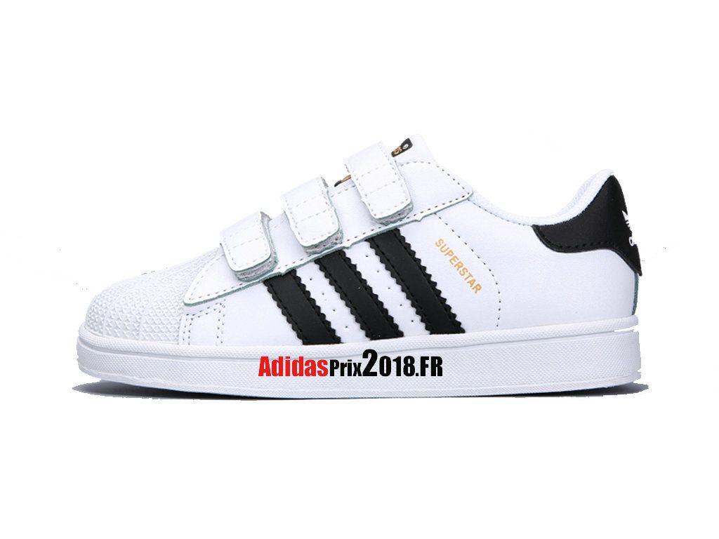 Chaussures Superstar Foundation CF Blanc Garçon Adidas
