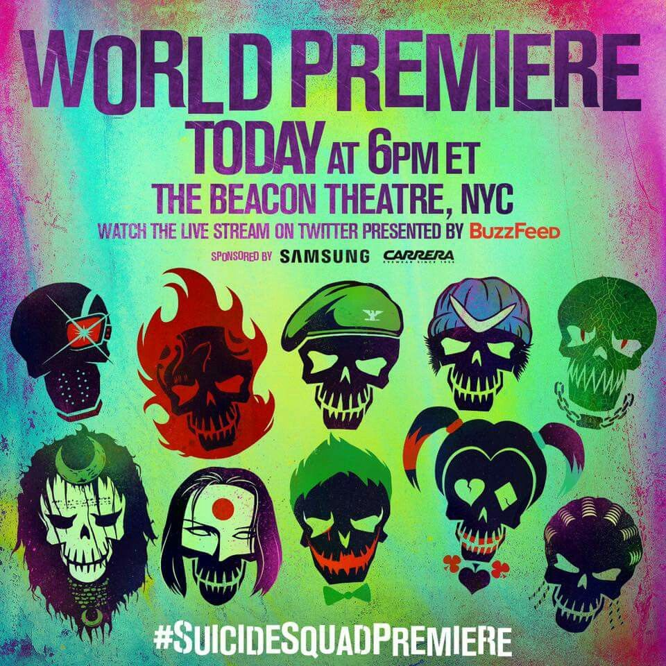 Tonight in #NYC  #sucidesquad