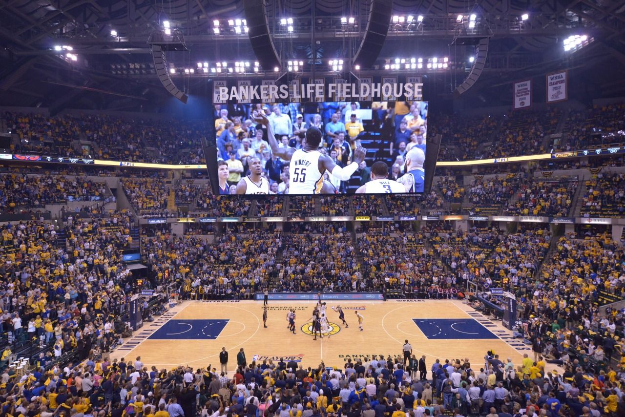 Nba Through The Lens In 2020 Bankers Life Fieldhouse Indiana Pacers Usa Sports