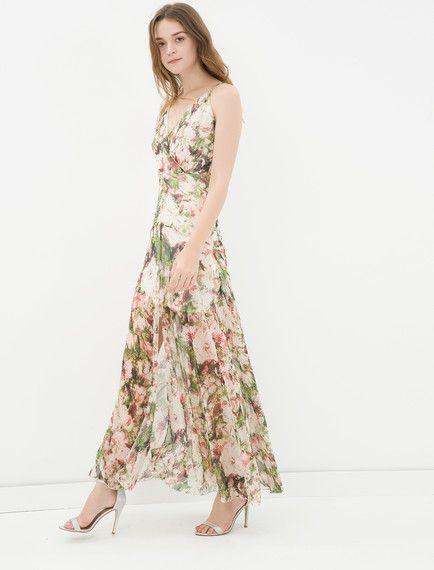 Koton - Koton Kadın Çiçekli Elbise
