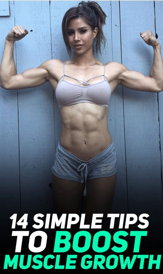 Female muscle growth tips
