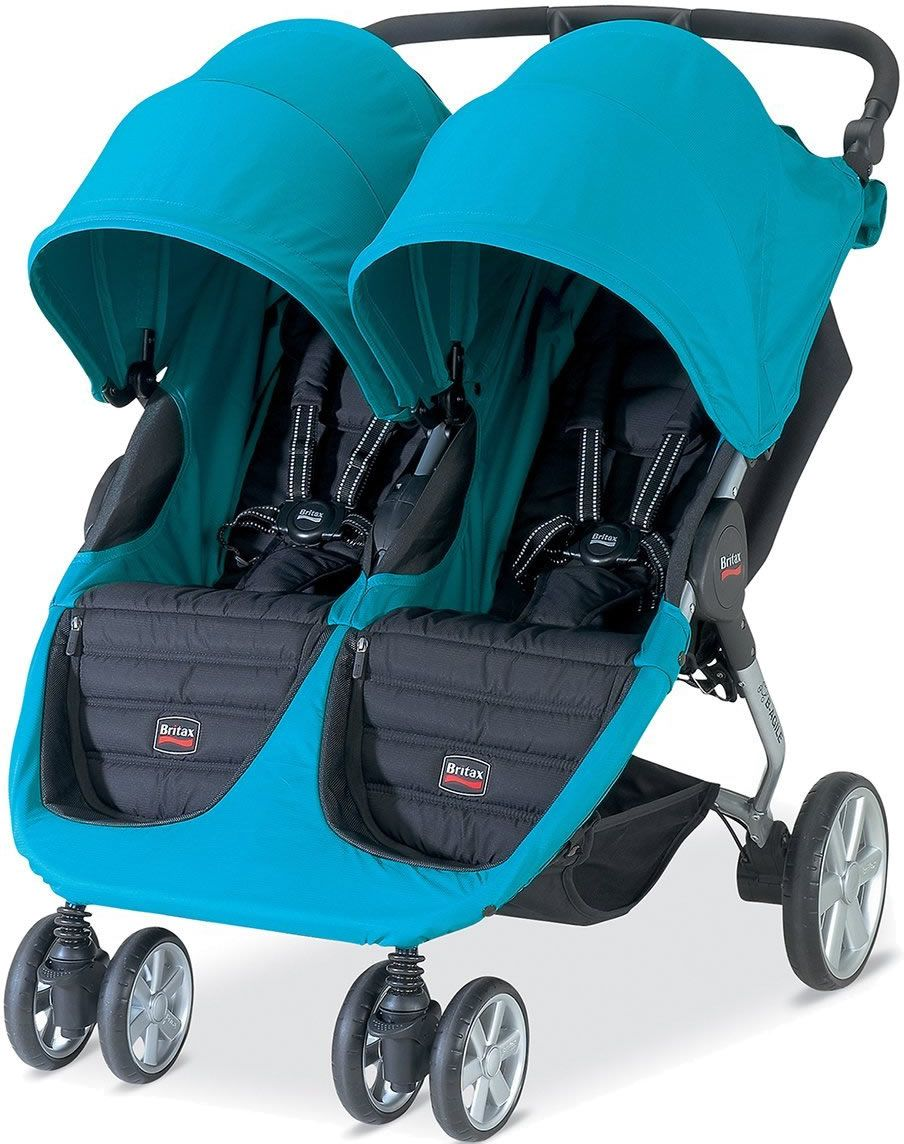 Britax BAgile Double Stroller Peacock...on its way to