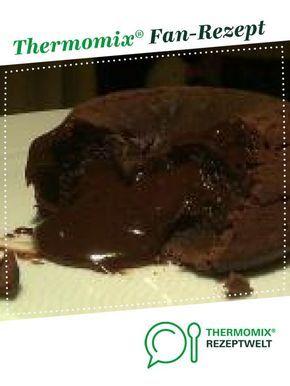 warmer Schokokuchen mit flüssigem Kern – Thermomix