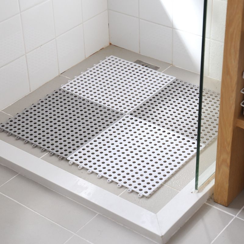 Non Slip Bathroom Mat Square Toilet Shower Pvc Home Kitchen Rug Eco Friendly Ebay In 2020 Shower Mat Bathroom Mats Kitchen Rug