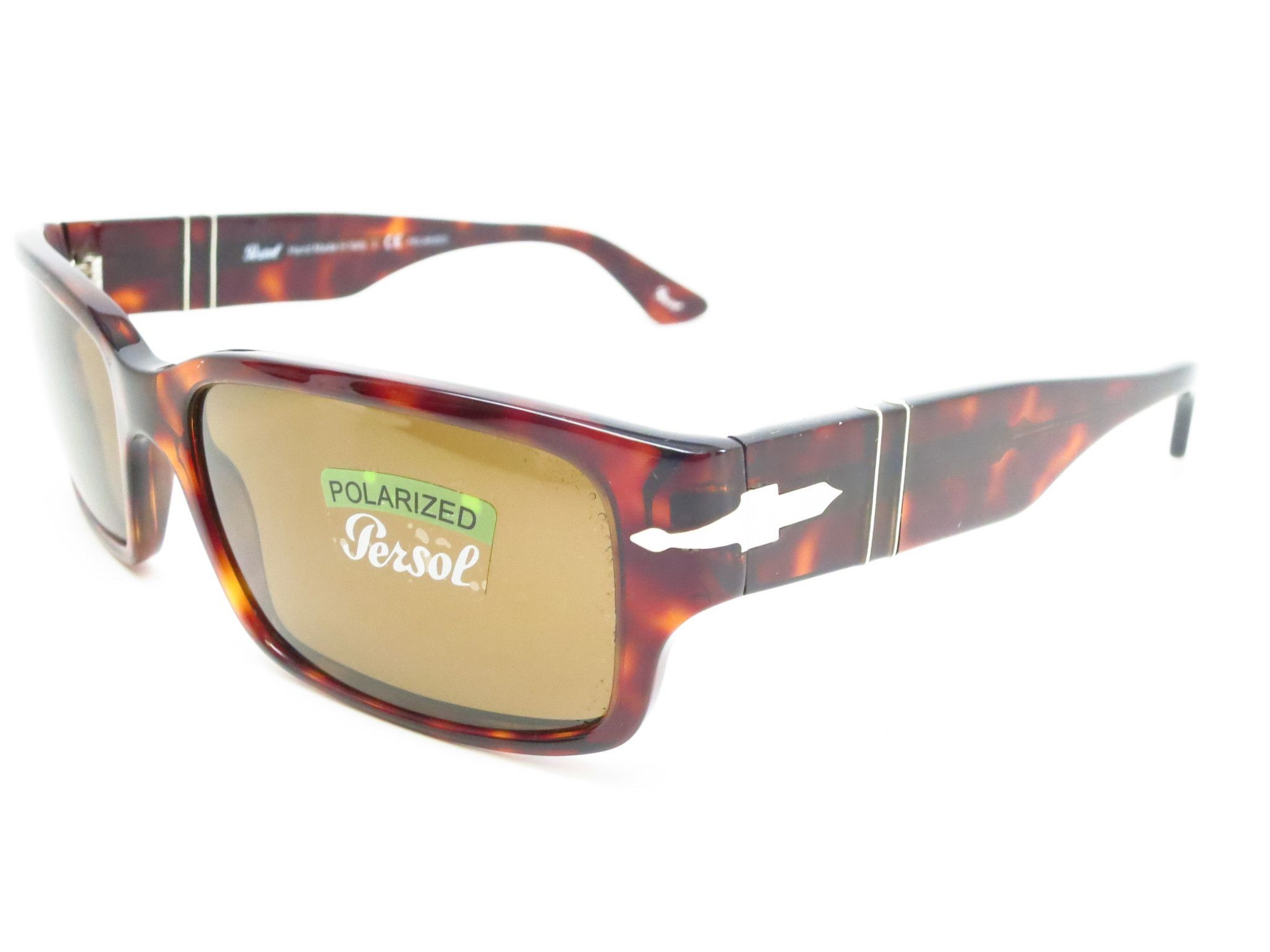 b0e327b3c5 Persol PO 3087-S 24 57 Havana Polarized Sunglasses