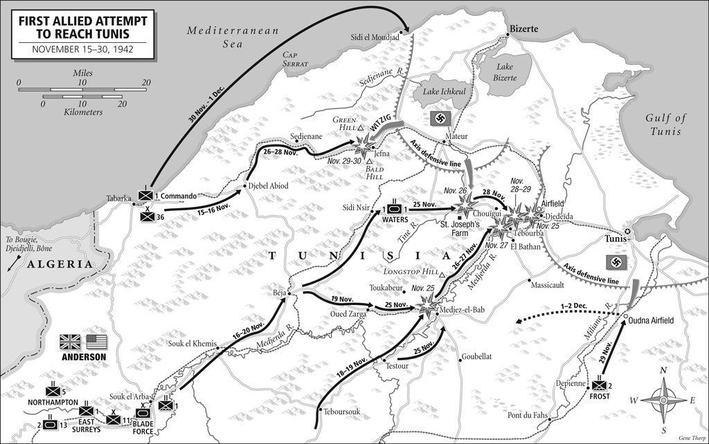 WW2: End of North Africa War dieulois