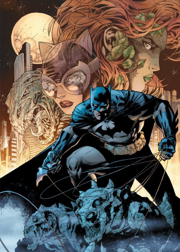Official DC Comics Jim Lee Collection King Of The Night #Displate artwork by artist… | Displate thumbnail