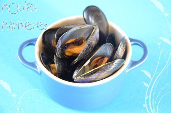recette facile de moules marinières / mussels