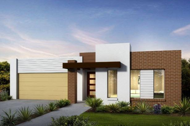 Fachadas de casas bonitas y economicas g 3 pinterest for Casetas economicas