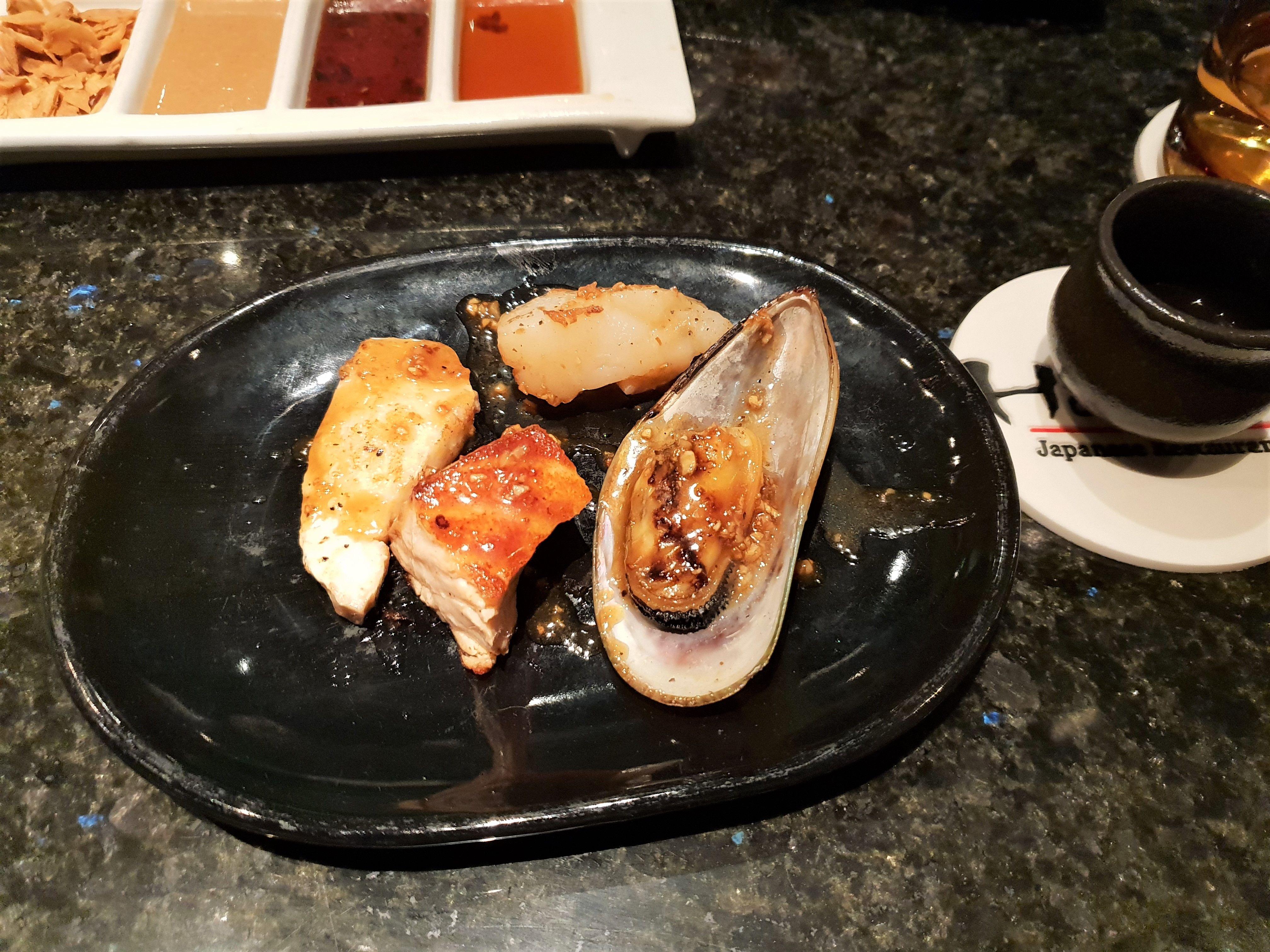 Enjoy Japanese Cuisine On Bali At Restaurant Hamabe In Westin Hotel Japanese Restaurant Bali Japanese Cuisine