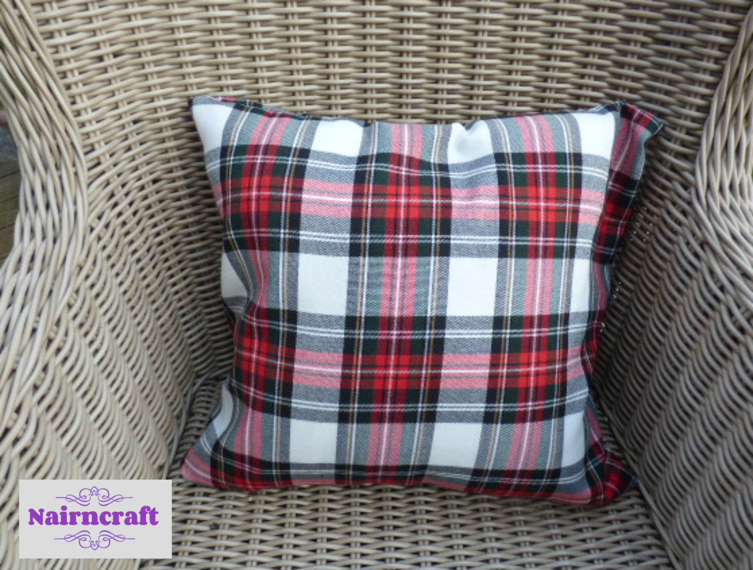 Tartan Pillow Cover Modern Farmhouse