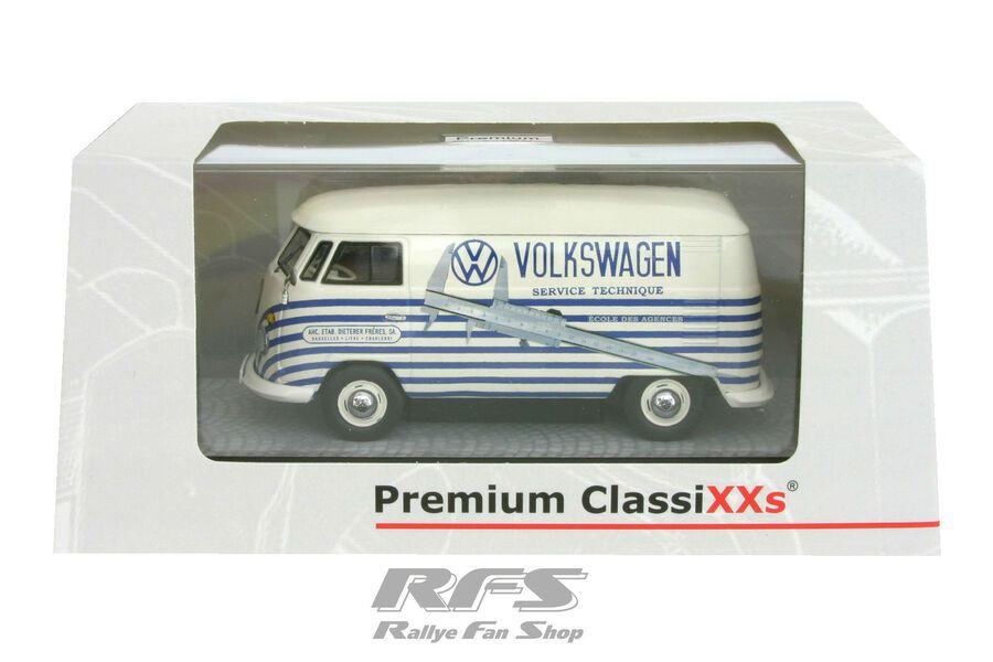 VW T1 Kastenwagen  Volkswagen Service Technique 1:43 Premium ClassiXXs 13802 NEU