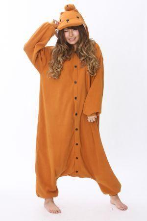 Capybara Halloween Costume/Year Round Pajamas