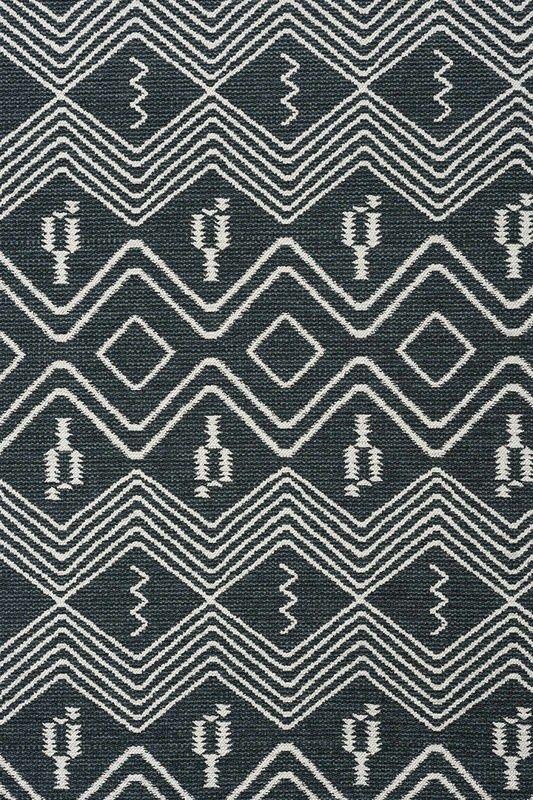 Tabular Jet 12292 105 James Dunlop Textiles Upholstery Drapery Wallpaper Fabrics Fabric Carpet Black White