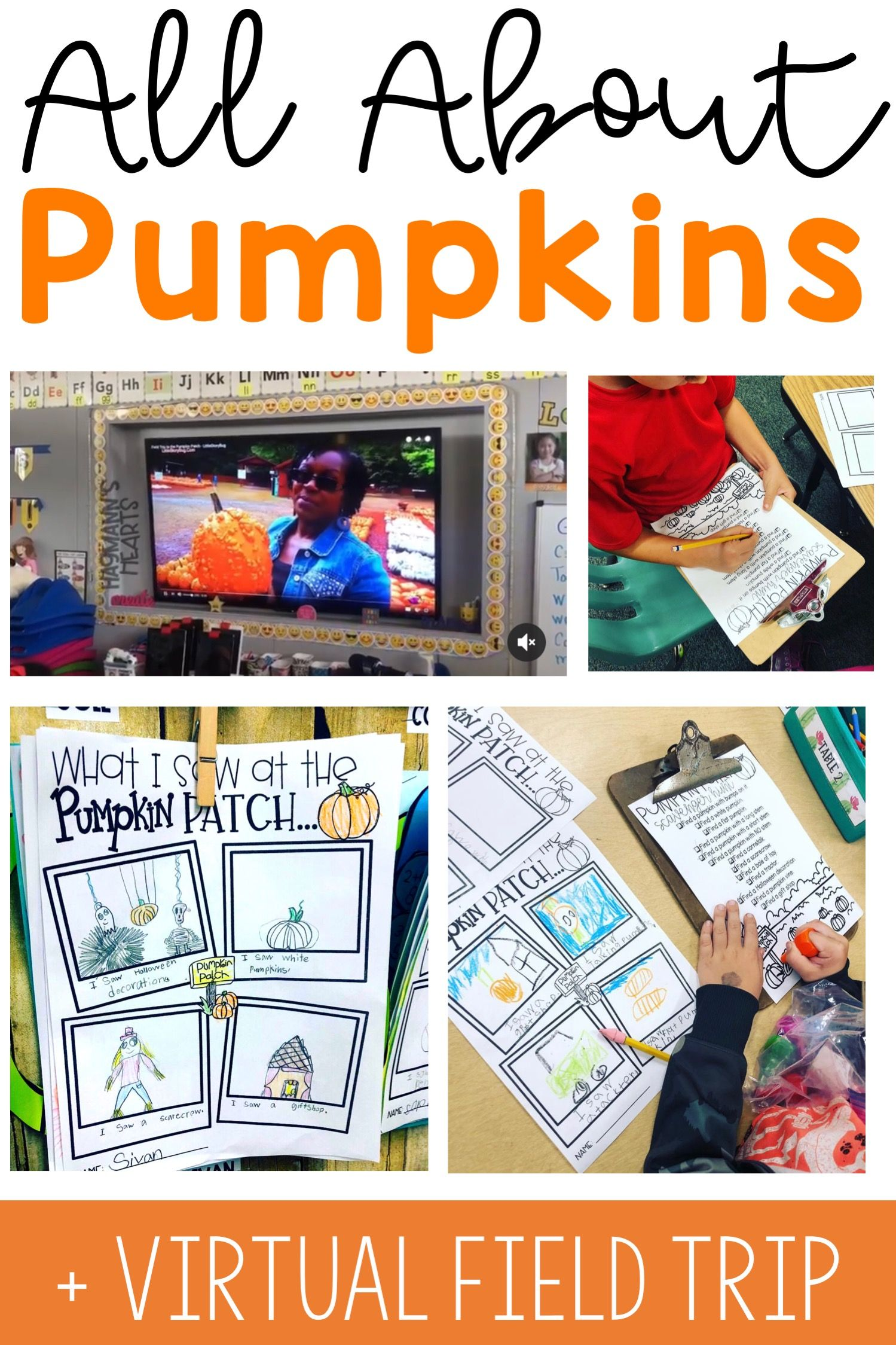 Pumpkin Unit Virtual Field Trip