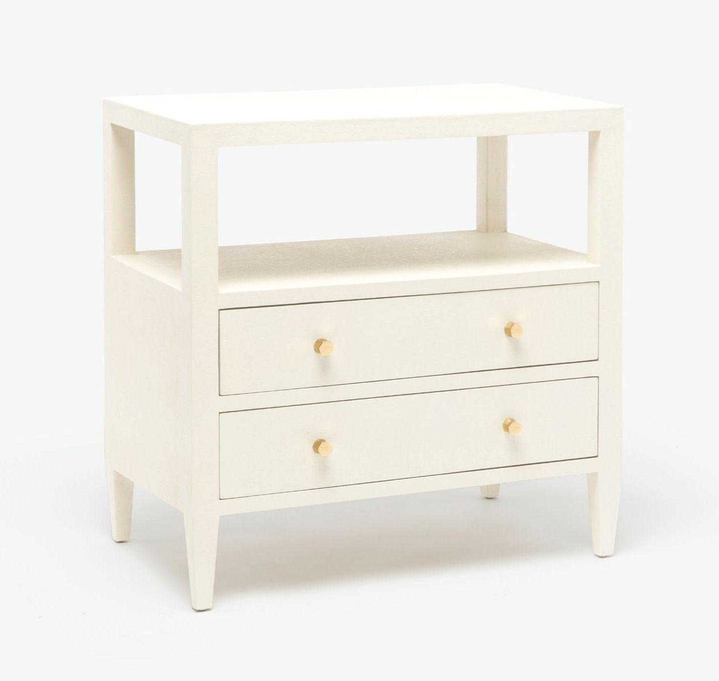 finest selection 222ba 114f4 Large Faux Belgian Linen Side Table | bedroom in 2019 ...