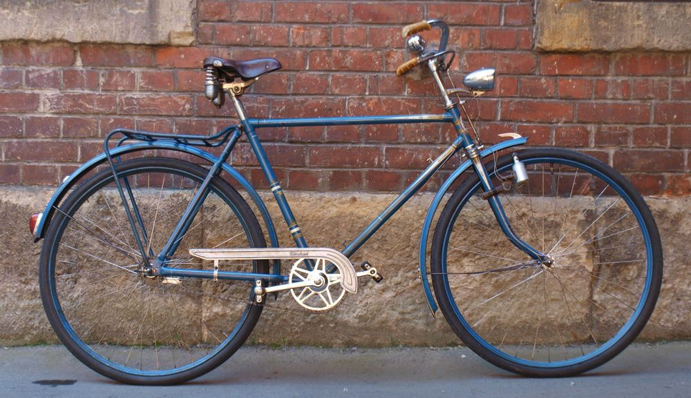 Vintage Oldtimer Fahrrad 50er 60er Jahre Herrenrad Vaterland RH 55 ...