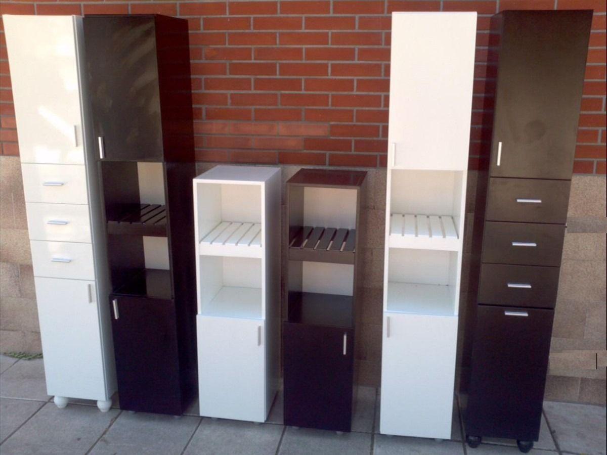 Mueble tolva bano 30x34x180 cajonera volcadora canasto for Muebles para chicos