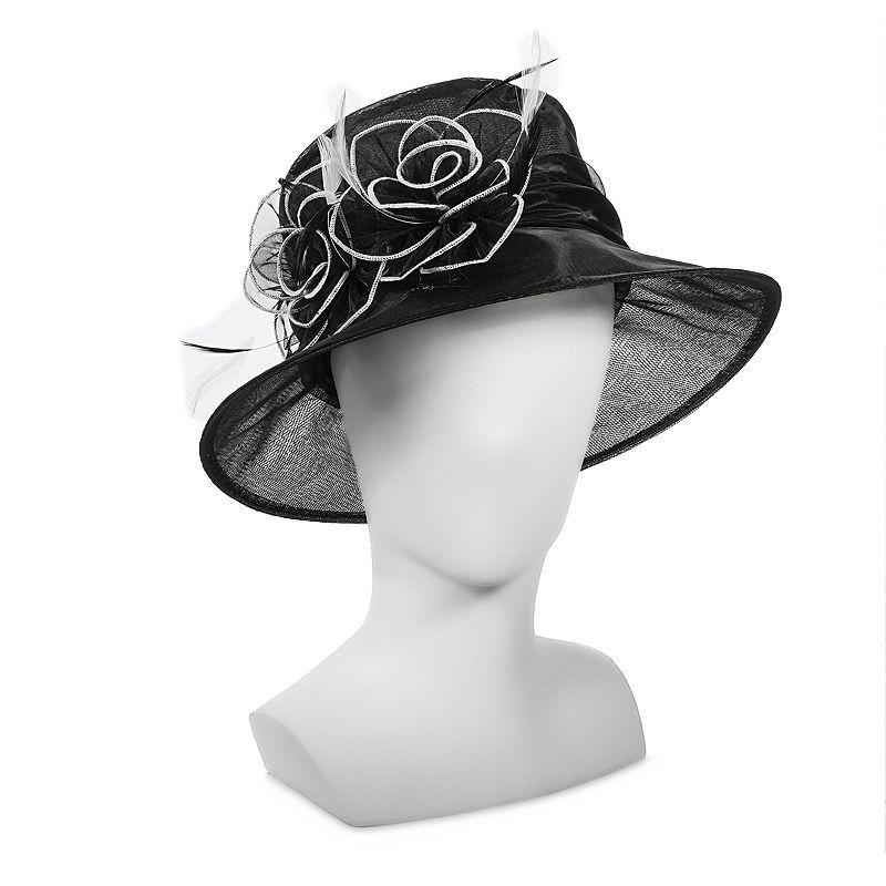 d708d214899 Croft   Barrow® Organza Big Brim Bow Floppy Hat